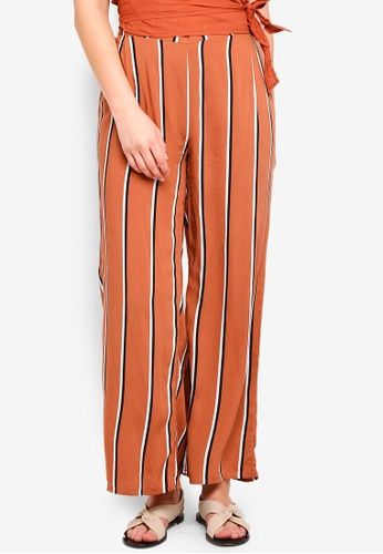 Cotton On brown Wide Leg Pants 9AF05AA630F86EGS_1