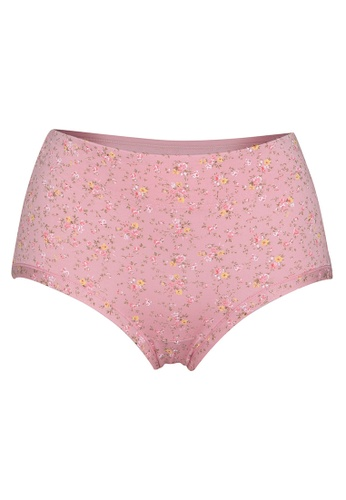Lady Grace pink All over Print Panty 22D42US01C6FFFGS_1