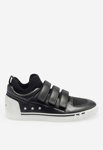 ASH black Nepy - Black Knit High-Top Sneakers 985C5SHDBAD2ECGS_1