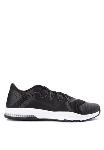 Nike black and grey Nike Zoom Train Complete Shoes NI126SH0JTANPH_1