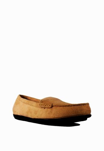 Zanea Shoes beige Flats Loafers 30B23SHF2D89A9GS_1