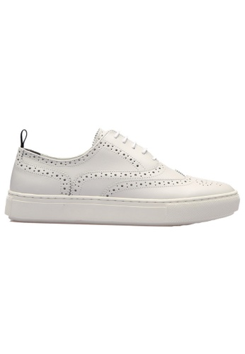 paperplanes white PP2018 Prime Handmade Cowhide Sneakers US Men Size PA355SH49GDISG_1
