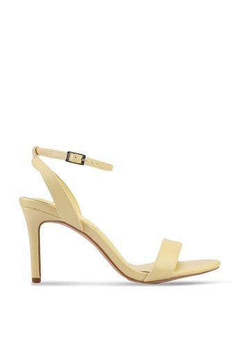 nose 黃色 Ankle Strap Heels 59279SH5DD85CAGS_1
