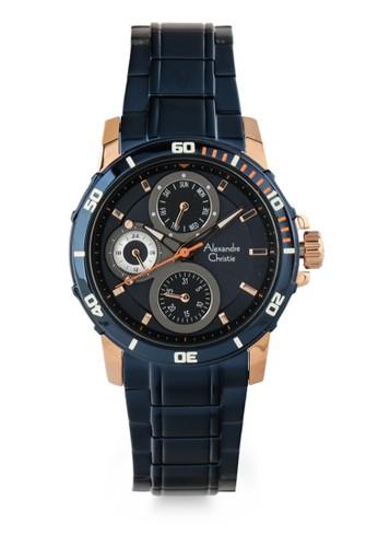 Alexandre Christie blue Unisex Analog Watches 6473-Bfburbu AE84DAC859A529GS_1