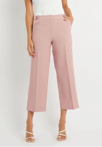FORCAST pink FORCAST Toni Straight Leg Pants ECA87AAD70E742GS_1