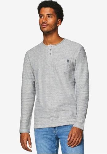 ESPRIT grey Long Sleeve T-Shirt 8ADE0AAE3C9292GS_1