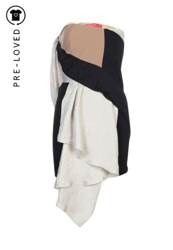 Khoon Hooi beige Pre-Loved khoon hooi Bustier Dress 440C0AAEEA2677GS_1