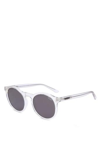Quay Australia white Kosha Comeback Sunglasses EEFFCGL051D33EGS_1