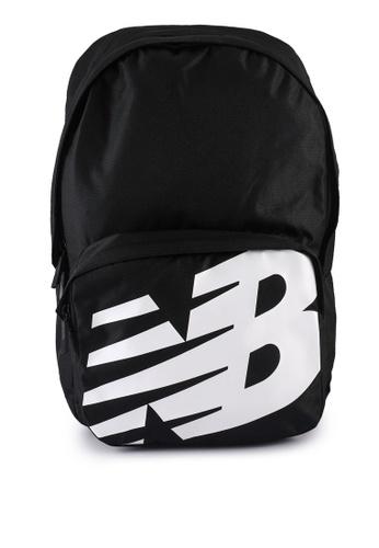 New Balance black Logo Backpack 3BE55AC1BD0DB2GS_1