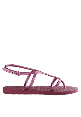 deae5a48c Shop Havaianas Allure Maxi Flip Flops Slippers Online on ZALORA Philippines