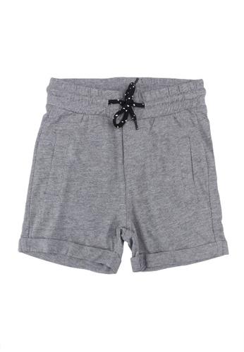 FOX Kids & Baby grey Casual Knit Shorts 20FA1KA000720CGS_1