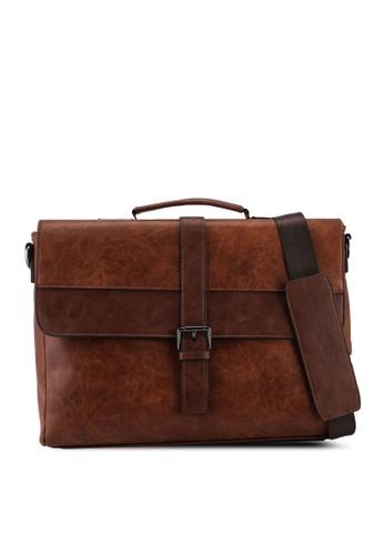 ALDO brown Cedro Crossbody Bag 244FFAC99A5EB0GS_1