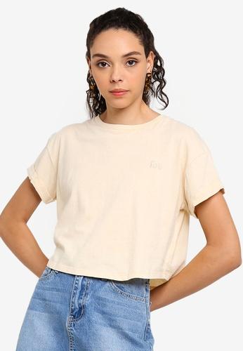Factorie 多色 短袖短版T-襯衫 87BB0AA5475509GS_1