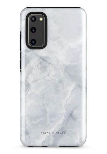 Polar Polar grey Snow Mountain Samsung Galaxy S20 5G Dual-Layer Protective Phone Case (Glossy) 473A2ACB39D44DGS_1