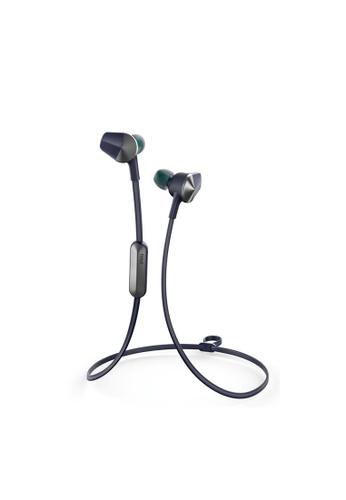 Fitbit blue Flyer Wireless Headphones, Nightfall Blue F3B5EAC0834C4FGS_1