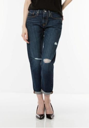 Levi's blue Levi's 501® Taper Jeans LE843AA0GC4XSG_1