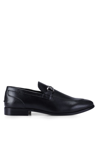 Carlton London black Dress Shoes EE2C1SH95AB5EDGS_1