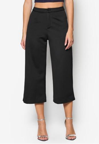 七分寬管褲, 服esprit手錶專櫃飾, 長褲及內搭褲