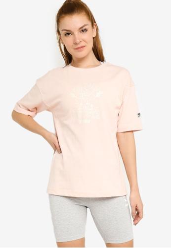 PUMA pink Downtown Graphic Women's Tee B7512AADB11E6FGS_1