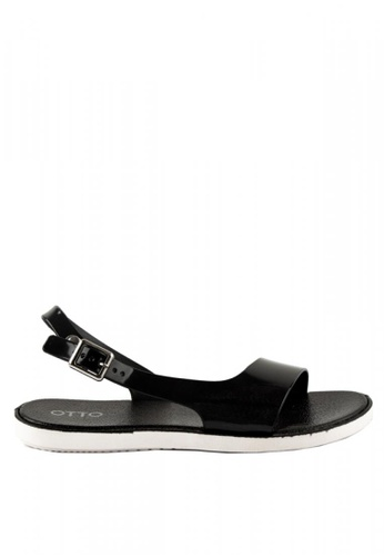 3c3b19657 Shop Otto Slingback Jelly Sandals Online on ZALORA Philippines