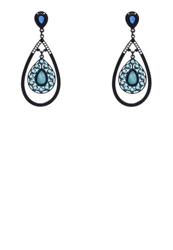 立體水晶淚esprit home 台灣滴造型耳環, 飾品配件, 耳環