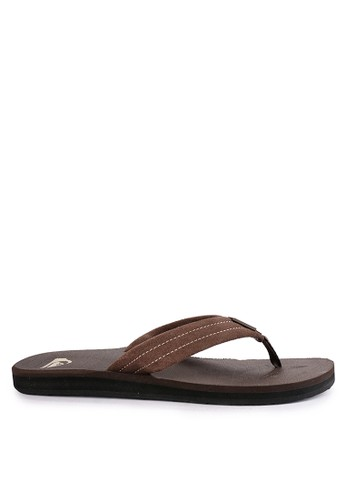 Quiksilver brown Carver Suede M Sndl Ctk0 0BB56SH04E2AA4GS_1