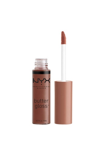 NYX Professional Makeup brown NYX Professional Makeup Butter Gloss - GINGER SNAP B252BBE8DBF928GS_1