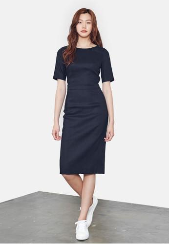 esprit 評價短袖及膝連身裙, 服飾, 洋裝