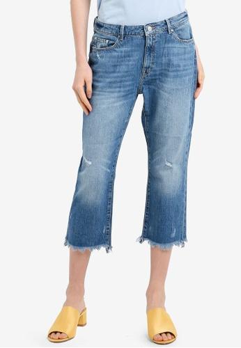 Buy ESPRIT Denim Length Service Jeans Online on ZALORA Singapore eda88630959f