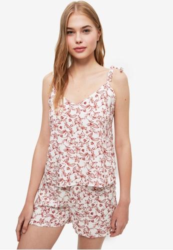 Trendyol multi Floral Pattern Pyjama Set 7E9AFAA2423F3DGS_1