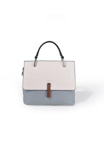 Esfolar blue Esfolar Satchel Bag (EA190017) 4B1A8AC244BD49GS_1