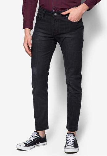 蠟esprit taiwan染直筒牛仔褲, 服飾, 牛仔褲