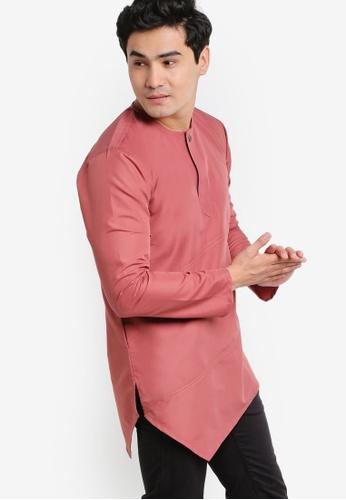 Amar Amran pink Kurta Al Fattah AM362AA66JXHMY_1