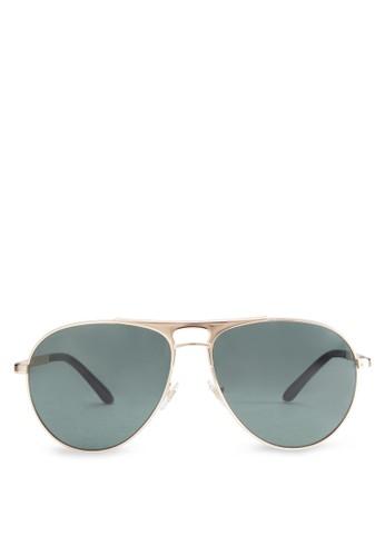 Versace Pop esprit home 台灣Chic Metal Sunglasses, 飾品配件, 飾品配件
