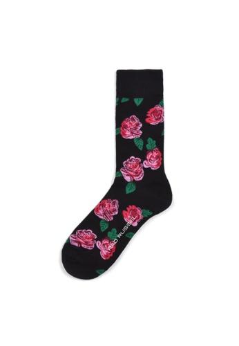 Rad Russel multi Rad Russel Ladies Patterned Socks- 70629 BD82DAAE5B4C08GS_1