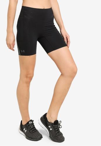 Under Armour 黑色 UA Rush Run Pocket Shorts 31AE8AABFB1815GS_1