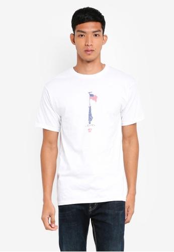 OBEY 白色 短袖印花T恤 15EB5AA33C5E72GS_1