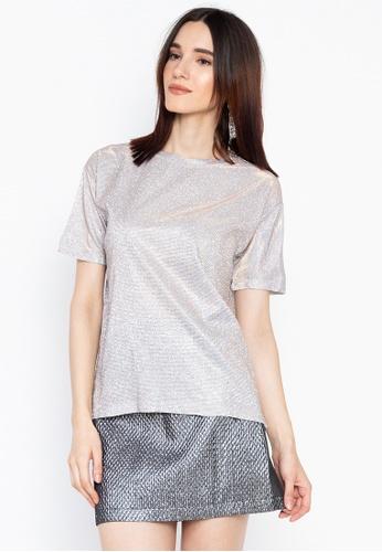 Chase Fashion silver Festival Glitter T-Shirt A4EB5AABD86F41GS_1
