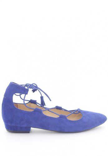 MINKA blue ARIA Cobalt Blue Lace Up MI006SH06IFPID_1