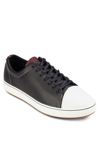 zalora taiwan 時尚購物網鞋子麂皮皮革繫帶休閒鞋, 鞋, 鞋