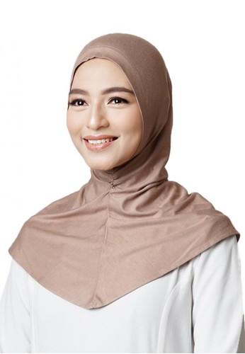 Cantik Kerudung brown CLARA INNER ANTEM D9AF0AABD7B259GS_1
