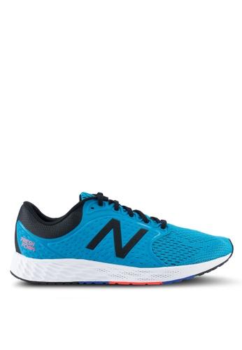 New Balance blue Zant Fresh Foam Performance Running Shoes NE323SH0SXOKMY_1