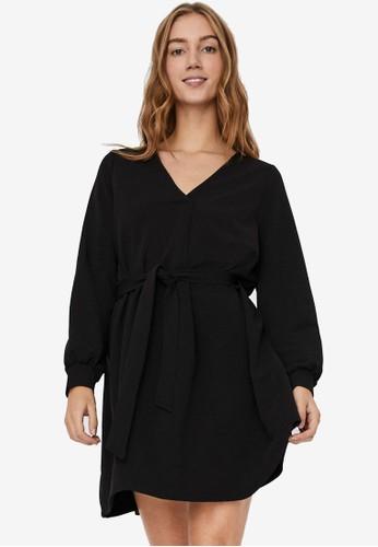 Vero Moda black Cali Dress 70FA3AA6B61527GS_1