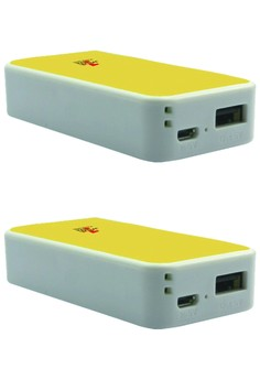 Mini Powerbank 5200 Mah - Set Of 2