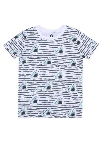 Cotton On Kids white Max Short Sleeves Tee 97AC6KA985E60EGS_1