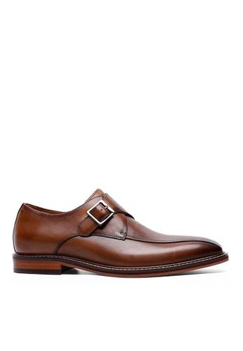 Twenty Eight Shoes Galliano復古真皮孟克皮鞋 8678 99D4DSHE20ECE9GS_1