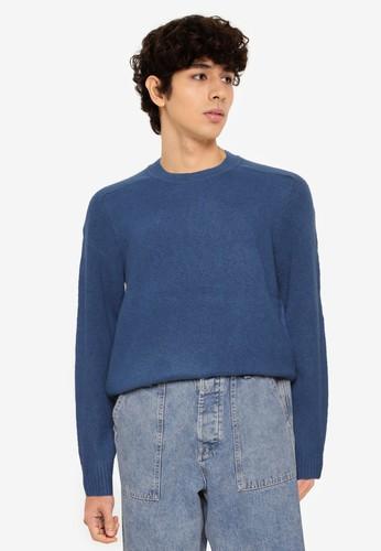 GAP blue Crew Neck Sweater 9F276AA0A31427GS_1