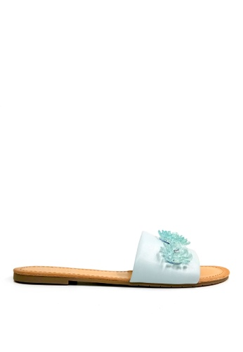 Kenneth Cole New York blue JUST ENOUGH - Slide Sandal A437BSH10DAADAGS_1