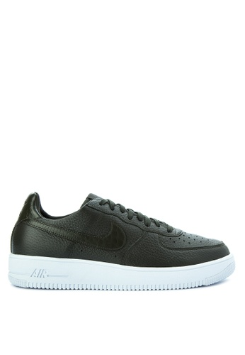 Nike black Men's Air Force 1 Ultra Force Shoes NI126SH0KPR6PH_1