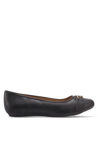 Bata black Angeline Flats 64BE0SH435B727GS_1